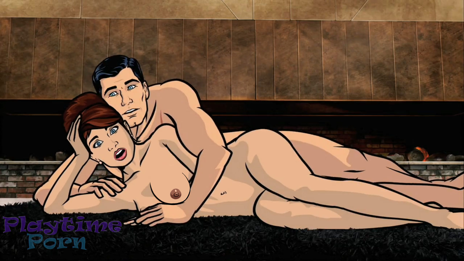 Archer porn smut video