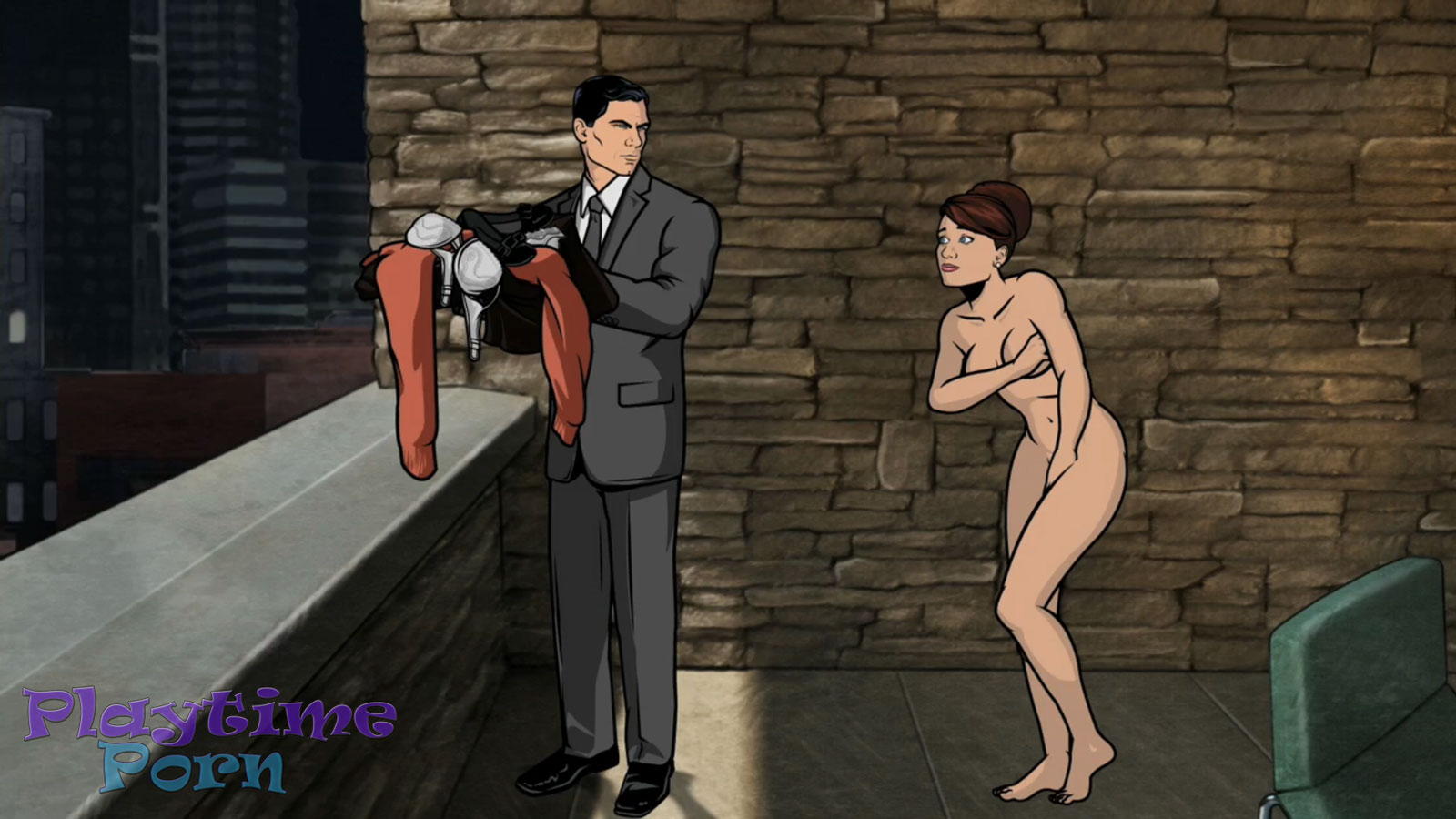 Archer sex cheryl nude exposed images