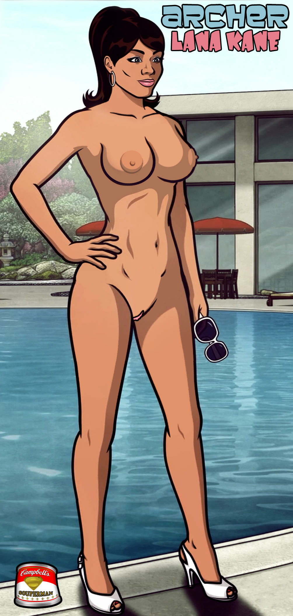 Lana from archer nude